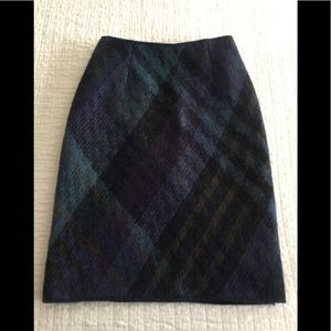 Missoni orange label mohair mix straight skirt